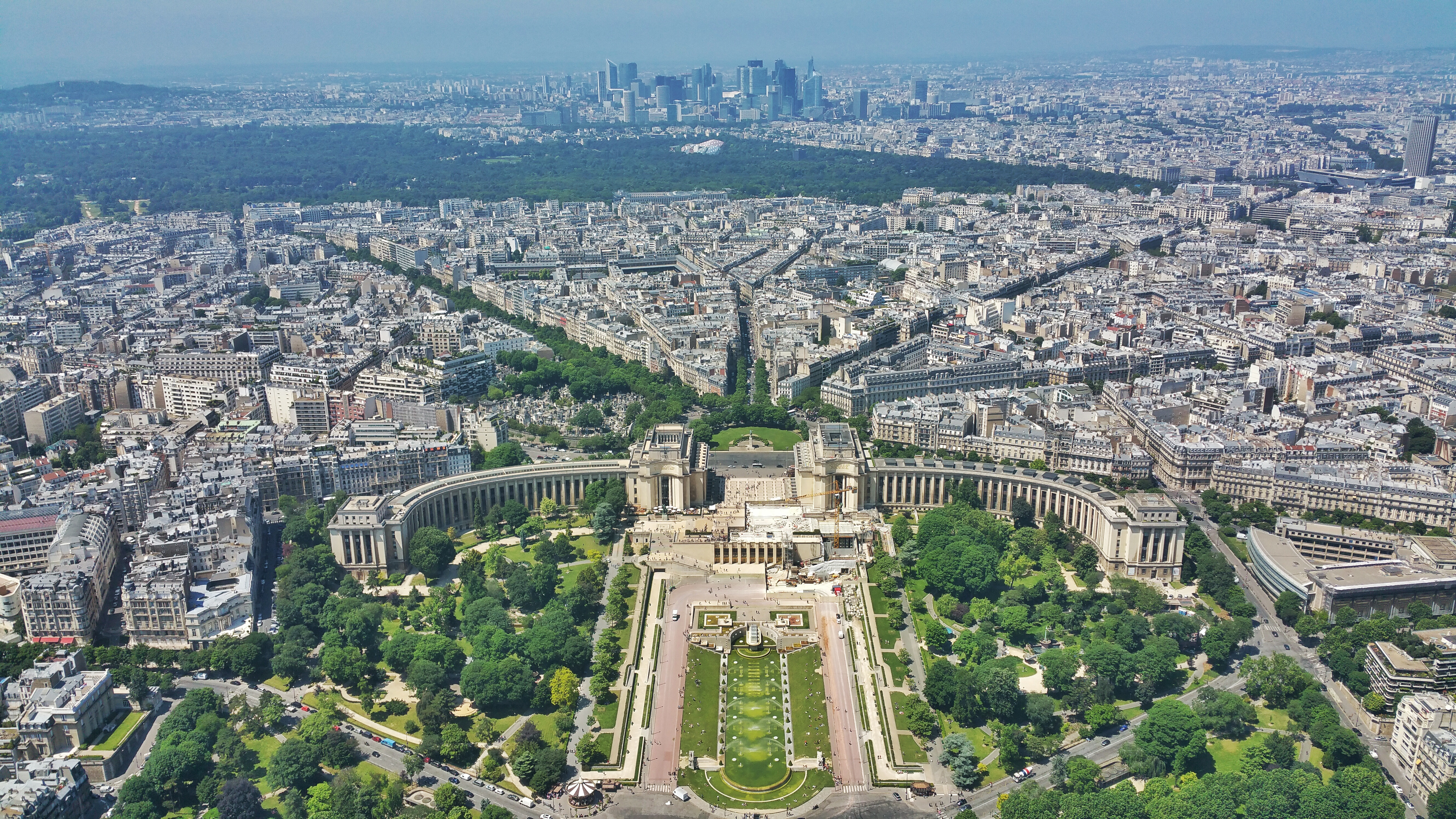 Overlooking Paris from the Eiffel Tower